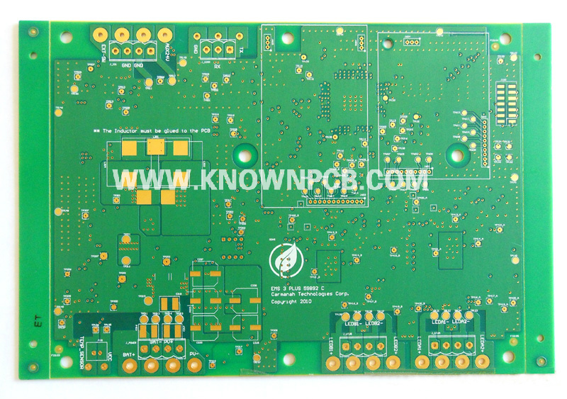 Multilayer board with Matte Green Solder Mask